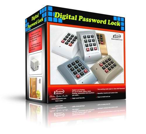 خرید قفل رمزي براي درب ساختمان، اتاق، پاركينگ+عکس